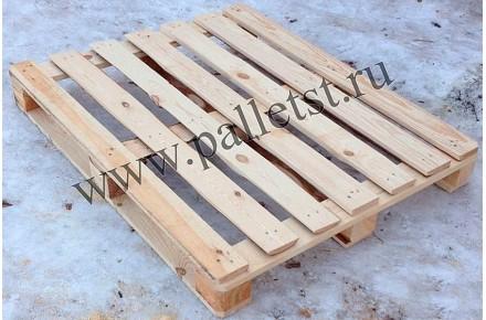 Поддон деревянный новый 1200х1200 2 сорт не строганный