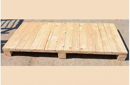 Поддон деревянный новый 825х1700 1 сорт строганный