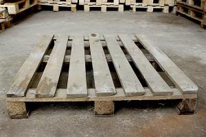 Поддон деревянный БУ 1200х1000мм г/п 1500кг 2 сорт