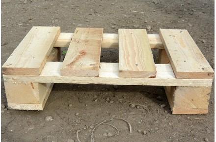 Поддон деревянный новый 400х600 1 сорт не строганный