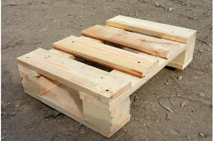 Поддон деревянный новый 400х600 2 сорт не строганный
