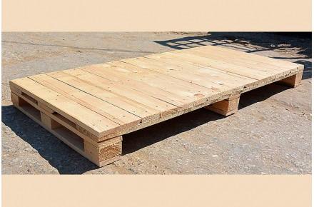 Поддон деревянный новый 825х1700 2 сорт не строганный