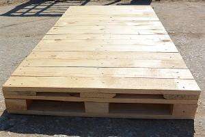 Поддон деревянный новый 825х1700 1 сорт не строганный