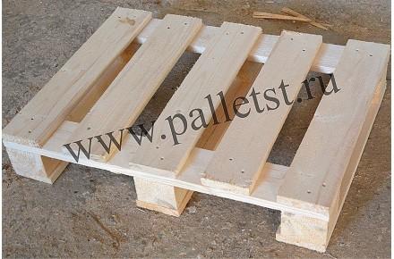 Поддон деревянный новый 600х800 1 сорт строганный