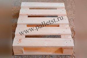 Поддон деревянный новый 600х800 2 сорт строганный