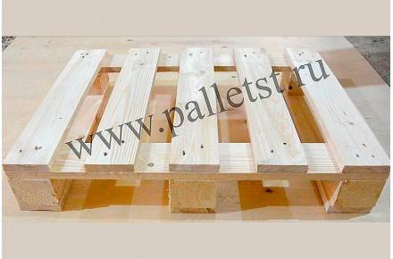 Поддон деревянный новый 600х800 2 сорт не строганный