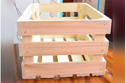 Ящик дощатый реечный овощной Арт ЯО0001