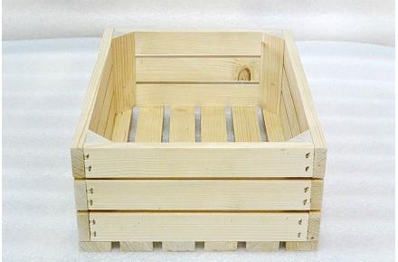 Ящик дощатый реечный овощной Арт ЯО0002