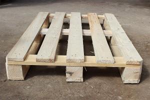 Поддон деревянный БУ 1200х800мм г/п 1500кг 1 сорт