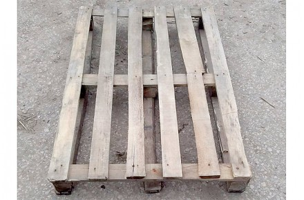 Поддон деревянный БУ 1200х800мм г/п 800кг 2 сорт