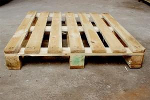 Поддон деревянный БУ 1200х1000мм г/п 1500кг 1 сорт
