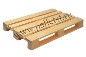 Евпроподдон деревянный новый 1200х800 2 сорт строганный