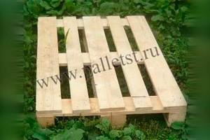 Евпроподдон деревянный новый 1200х800 1 сорт не строганный