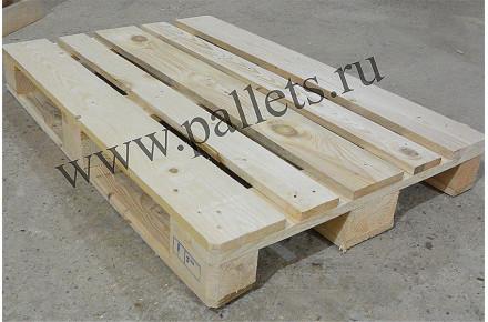 Евпроподдон деревянный новый 1200х800 1 сорт строганный