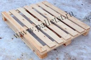 Поддон деревянный новый 1200х1000 2 сорт не строганный