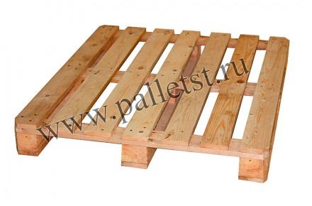 Поддон деревянный новый 1200х1000 1 сорт строганный