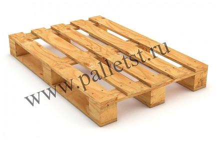 Поддон деревянный новый 1200Х800 1 сорт строганный