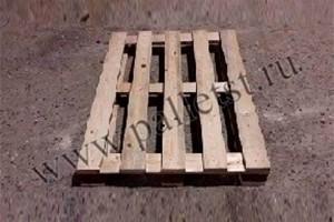Поддон деревянный новый 1200Х800 2 сорт не строганный