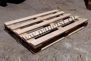 Поддон деревянный новый 1200Х800 2 сорт строганный