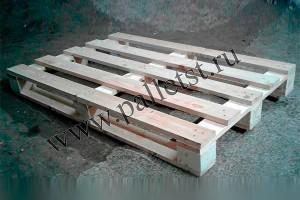 Поддон деревянный новый 1200Х800 1 сорт не строганный